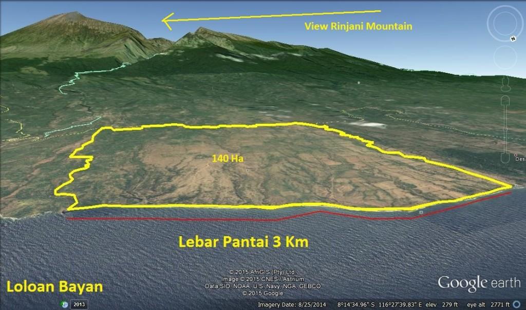 LEBAR PANTAI 3 KM